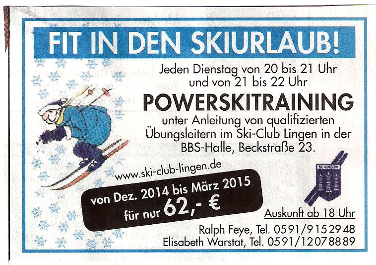 Lingener Tagespost 15.11.2014